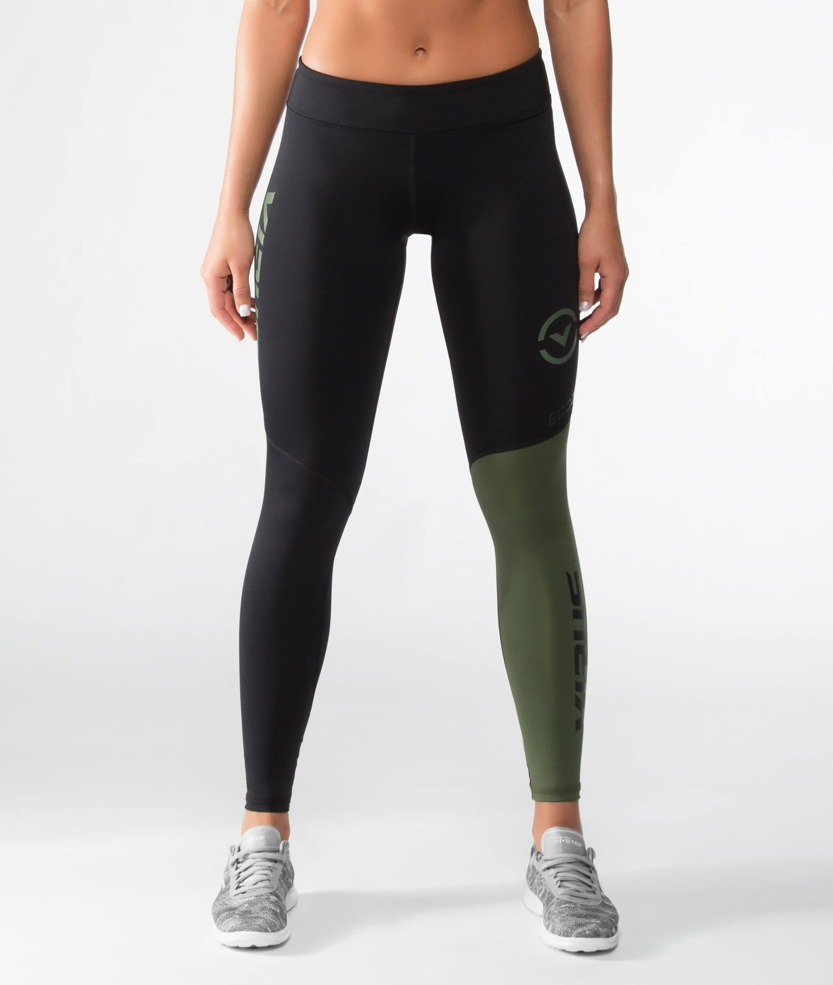 Women's Stay Cool V2 Compression Pant (ECo21) Olive Green