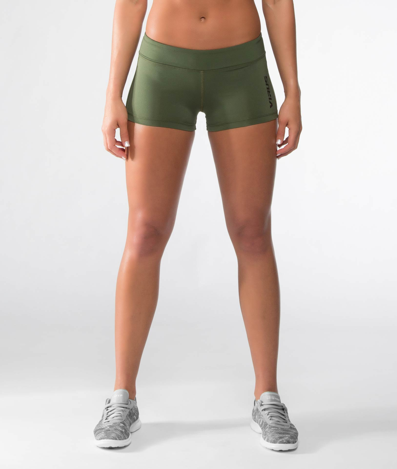 Women's Stay Cool DATA Training Short (ECo22)- Olive Green