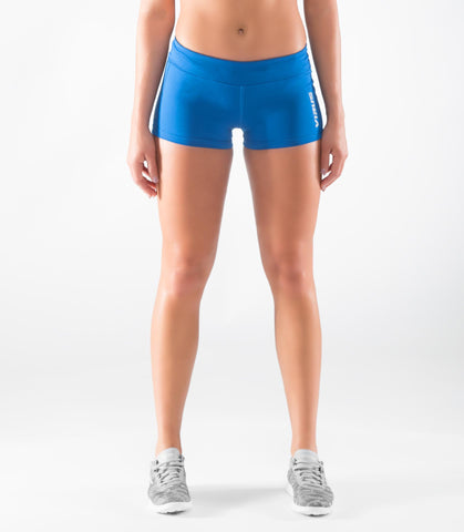 Women's Stay Cool DATA Training Short (ECo22) Electric Blue