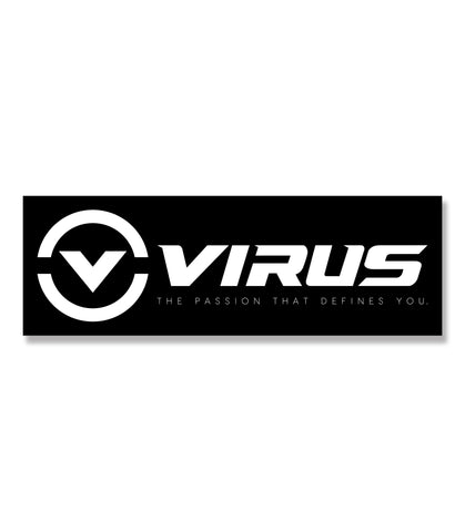 VIRUS Circle V Decal  (2.75 in. / 4 in.)