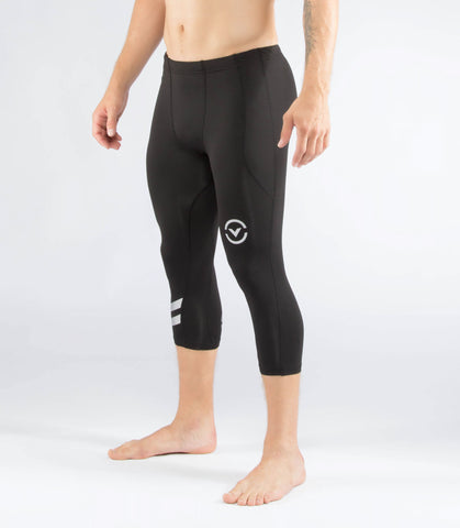 Men's Stay Warm Coffee Charcoal Compression V3 Tech Pant (Sio16)
