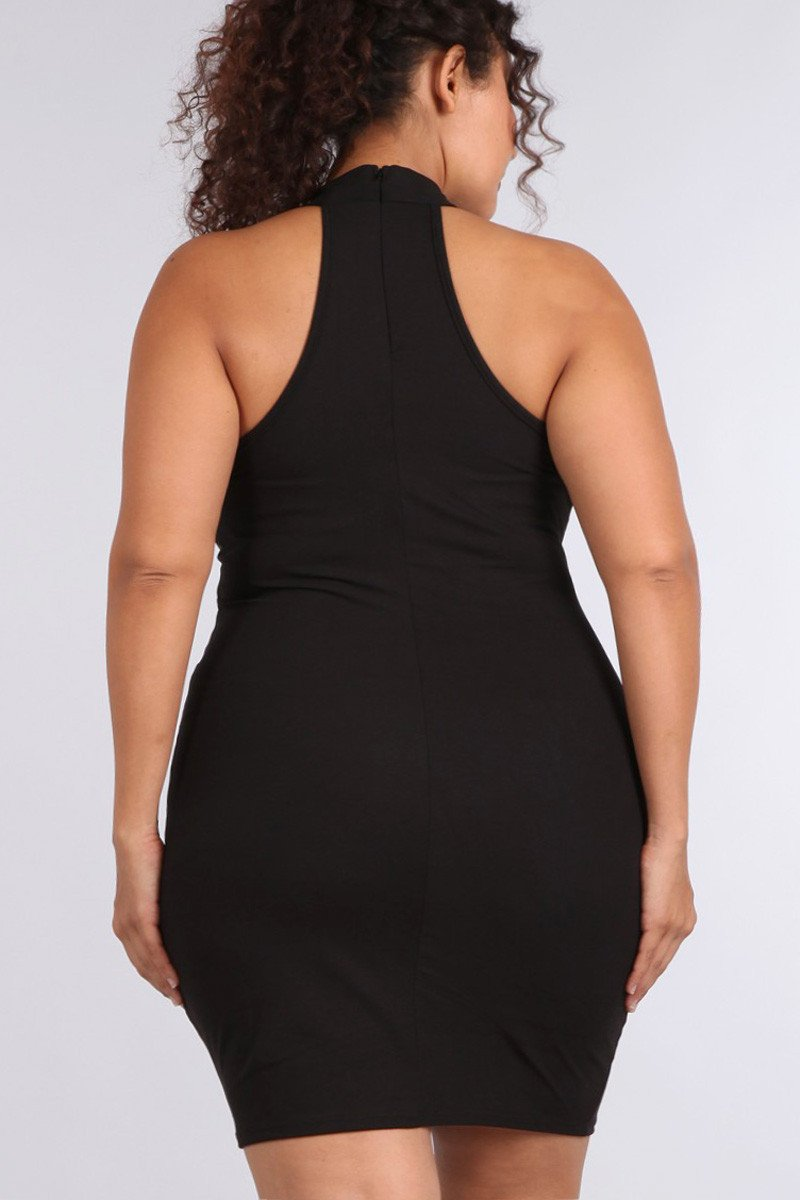 44c6975f702 Sexy Racer Back Crisscross Plus Size Dress – slayboo
