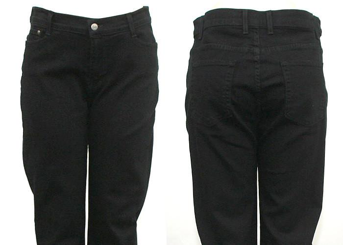 True Black Straight fit Jeans