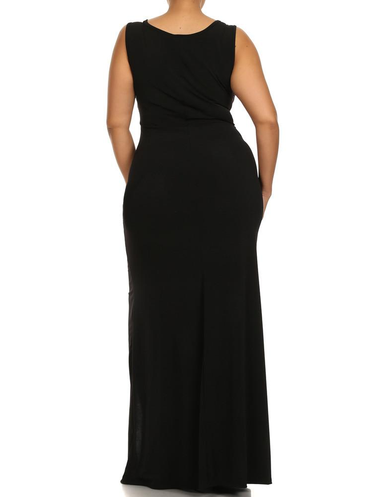 Plus Size Sparkling Dream Maxi Dress