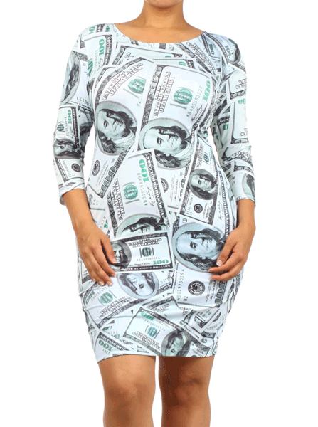 Plus Size Million Dollar Baby Dress