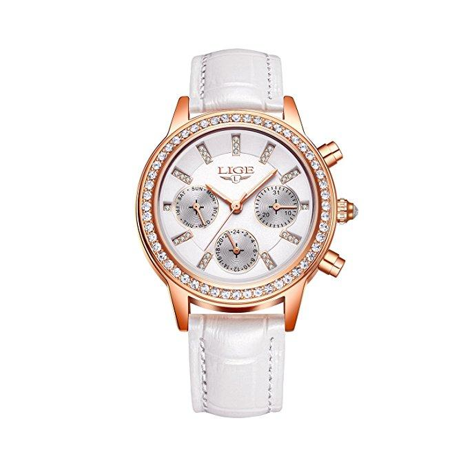Womens Analog Watches Quartz Wristwatch Business Casual Watch Unique