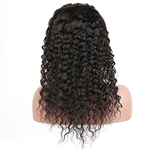 Lace Front Wig Deep Curly-Natural Looking Glueless