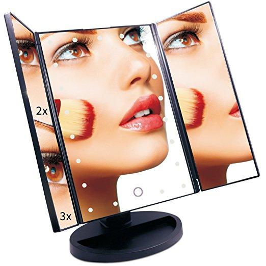 Vanity Mirror EmaxDesign 21 LED lighted Makeup Mirror