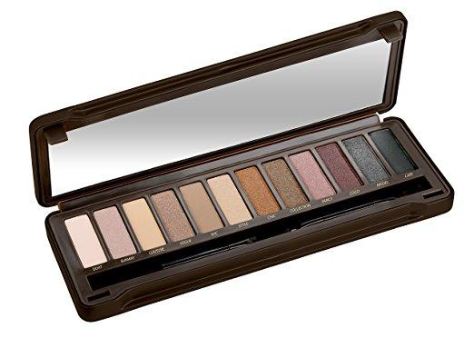 Nude Eyeshadow Palette Tin with Mirror