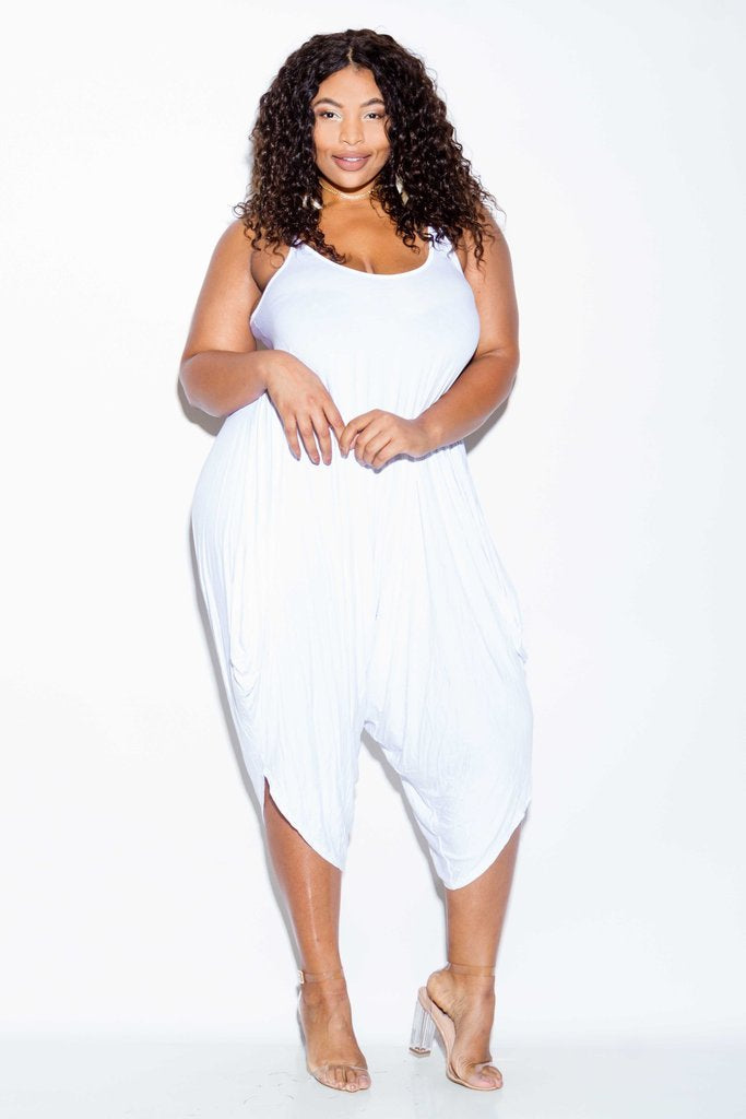 47366a9c6229 Plus Size Relaxed Trendy Harem Jumpsuit – slayboo