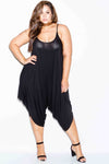 Plus Size Relaxed Trendy Harem Jumpsuit