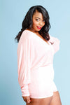 Plus Size Surplice Romper