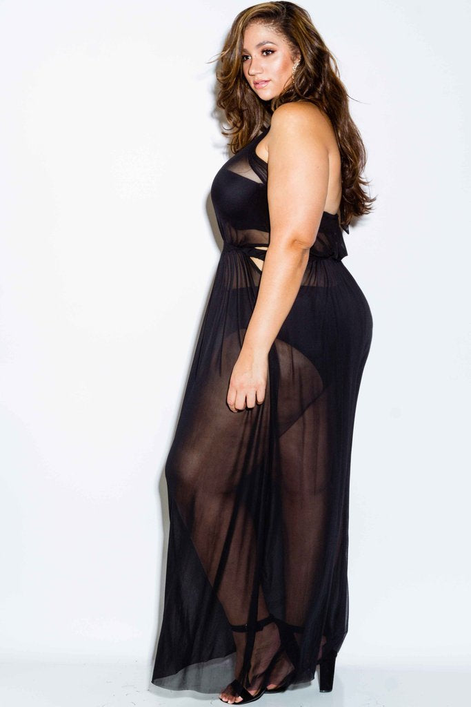 Plus Size Mess Dress