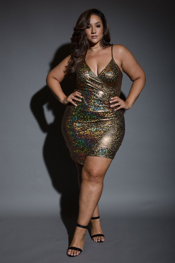 Plus size tube dress sexy