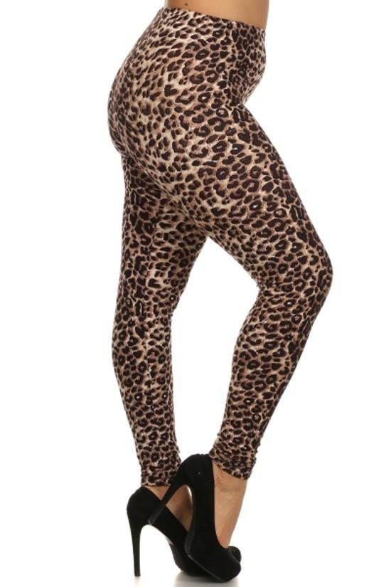 Plus Size Wild About You Plus Size Leggings