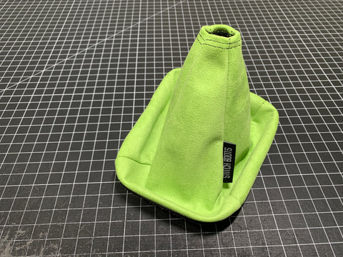 Lime Suede Shift Boot