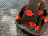 Red Clouds Akatsuki Canvas Shift Boot