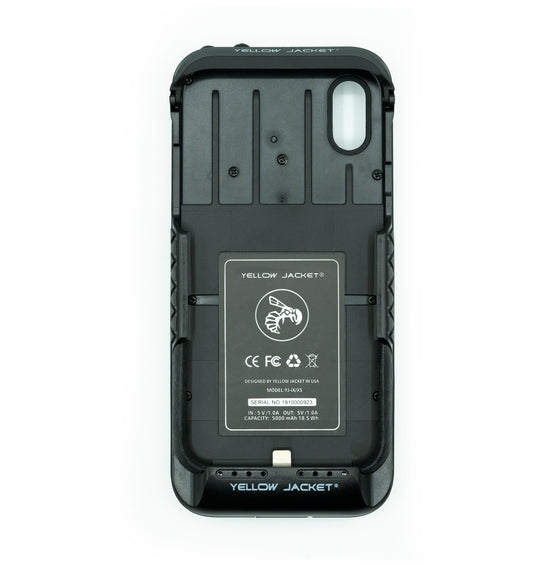 Yellow Jacket for iPhone X/XS - Midnight Black