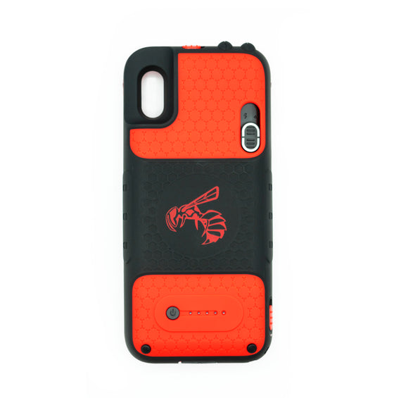 Yellow Jacket for iPhone X/XS - Urgent Red