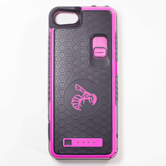 Yellow Jacket for iPhone SE - PINK