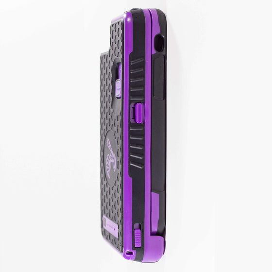 Yellow Jacket for iPhone SE - PURPLE