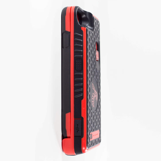 Yellow Jacket for iPhone SE - RED