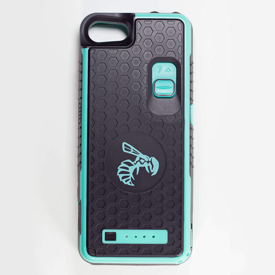 Yellow Jacket for iPhone 7 & 8 - TEAL