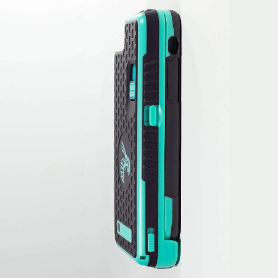 Yellow Jacket for iPhone SE - TEAL