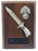 BAYONET and CAP BADGE Walnut Military Plaque