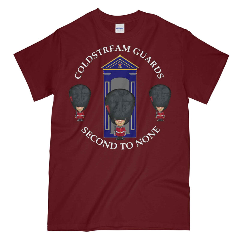 COLDSTREAM GUARDS on Sentry Military Printed T-Shirt