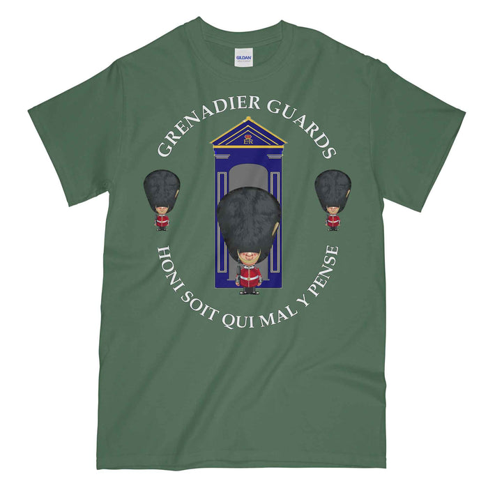 GRENADIER GUARDS on Sentry Military Printed T-Shirt
