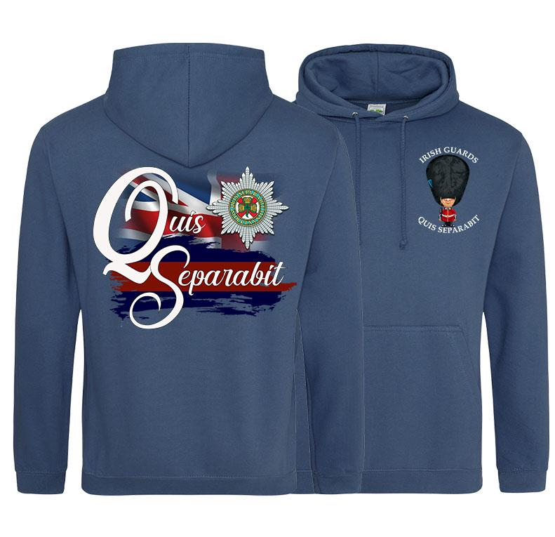 IRISH GUARDS QS Double Side Printed Hoodie