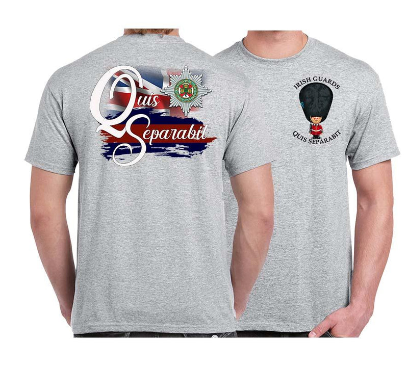 IRISH GUARDS QS Double Print T-Shirt