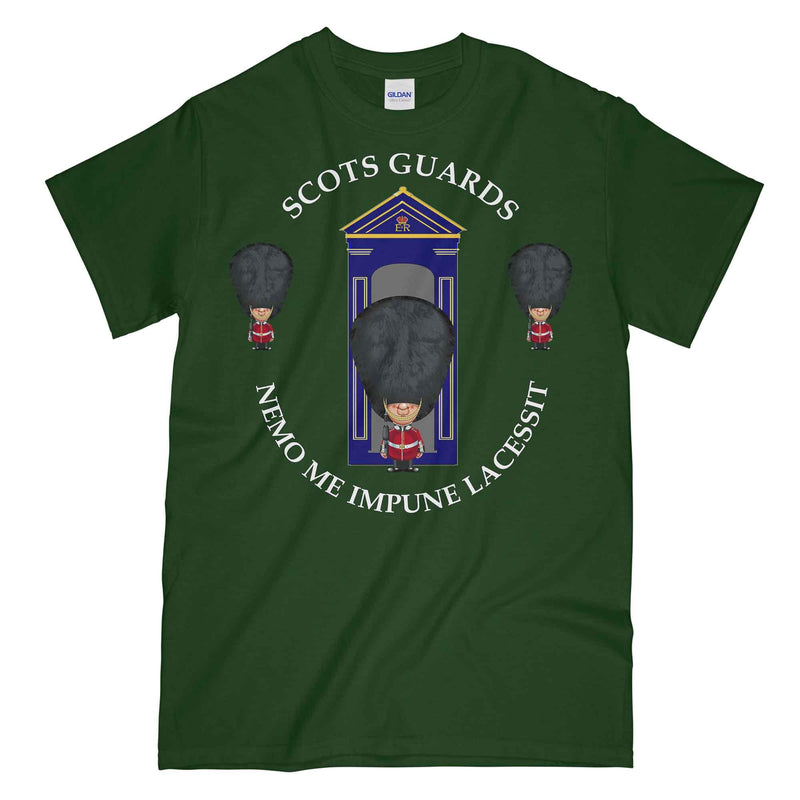 SCOTS GUARDS on Sentry Military Printed T-Shirt