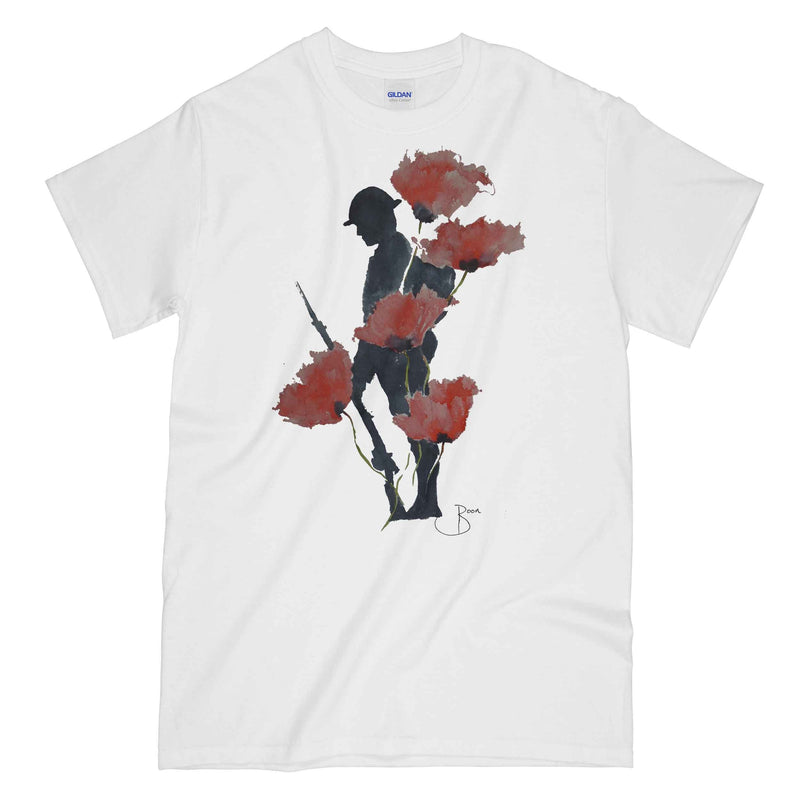 WW1 Remembrance Tommy Printed T-Shirt