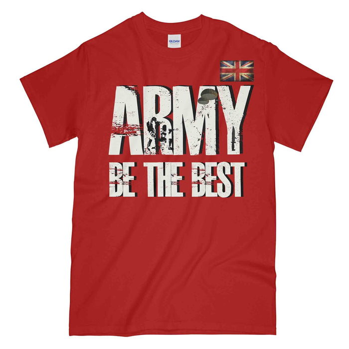 ARMY BE THE BEST British Army Printed T-Shirt