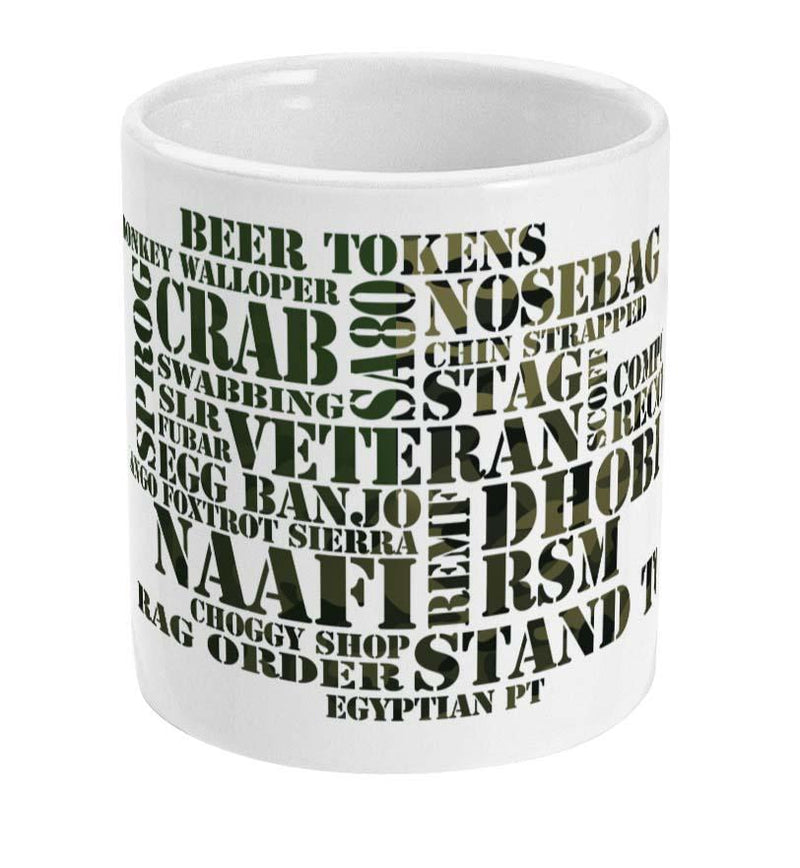 BRITISH ARMY JARGON Ceramic Mug