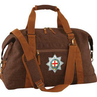 Bags & Satchels - The Coldstream Guards Vintage Canvas Satchel