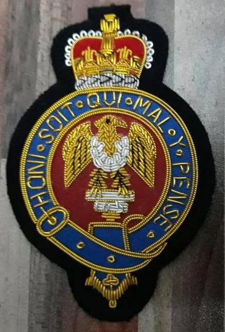 Blazer Badges - The Blues And Royals Blazer Badge