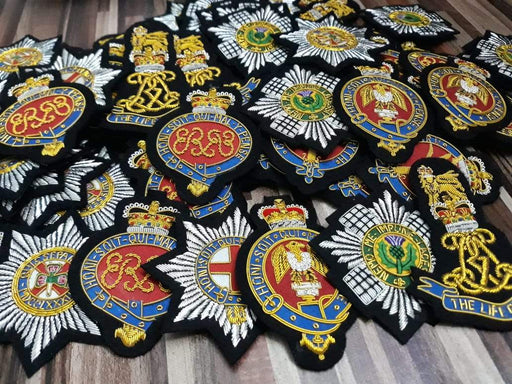 Blazer Badges - The Irish Guards Blazer Badge