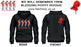 BLEEDING POPPY WE WILL REMEMBER THEM DOUBLE SIDE PRINTED HOODIE