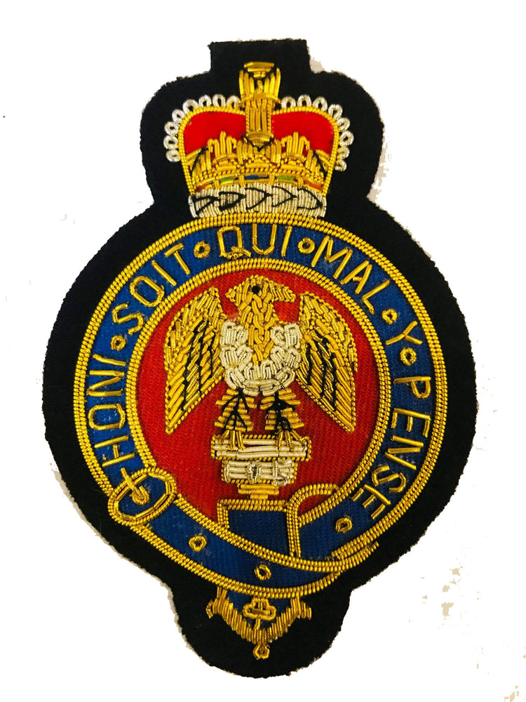 The Blues and Royals Blazer Badge
