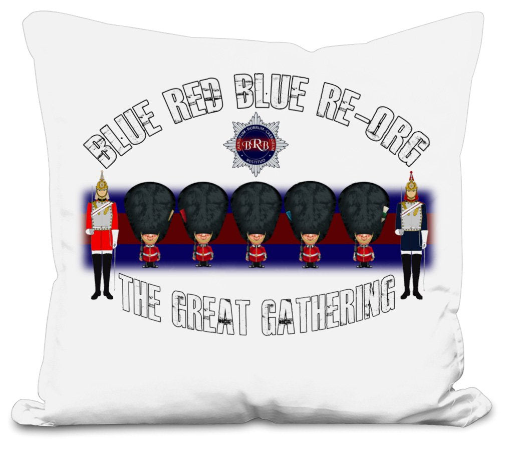 BRB RE-ORG The Great Gathering 2 Side Printed Cushion Cover