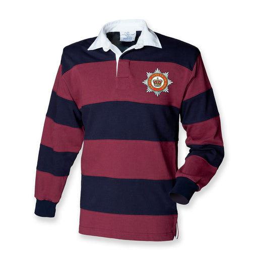 The Household Division Stripe BRB Rugby Shirt