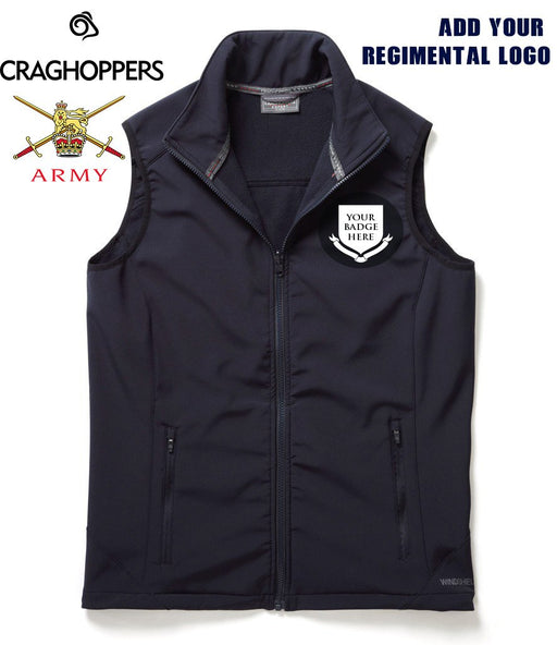 Regimental Craghoppers Soft Shell Body Warmer