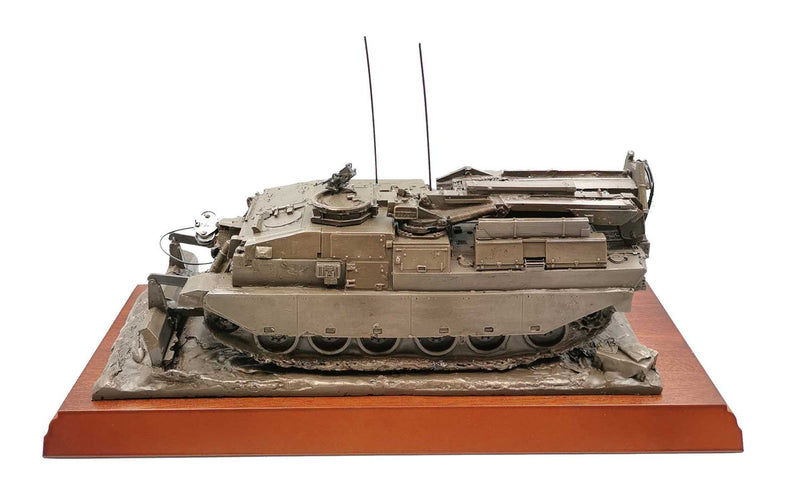 CRARRV REME Recovery Vehicle in Cold Cast Bronze
