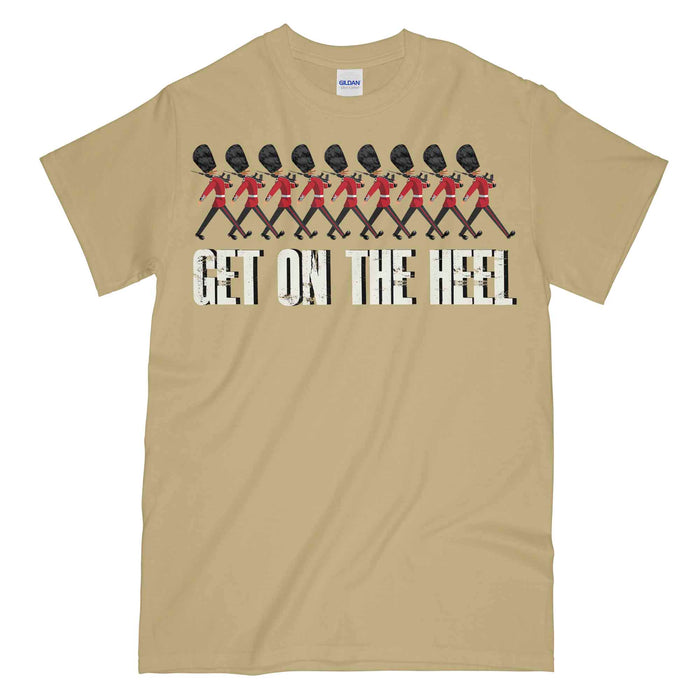 GUARDS GET ON THE HEEL Military Printed T-Shirt