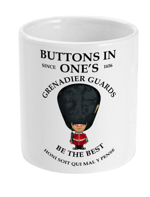 Grenadier Guards Buttons in Ones Ceramic Mug