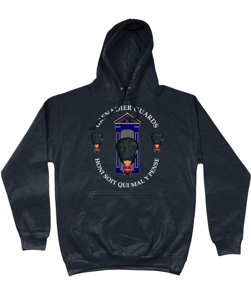 GRENADIER GUARDS ON SENTRY Front Printed Hoodie