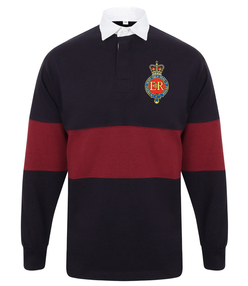The Household Cavalry Panelled BRB Rugby Shirt